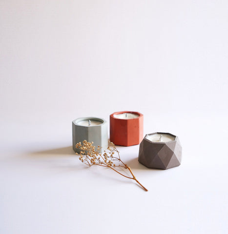 Concrete Candle