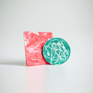 Marbled Coaster DIY Kit