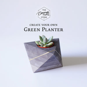 Online Lesson: Green Planter Workshop
