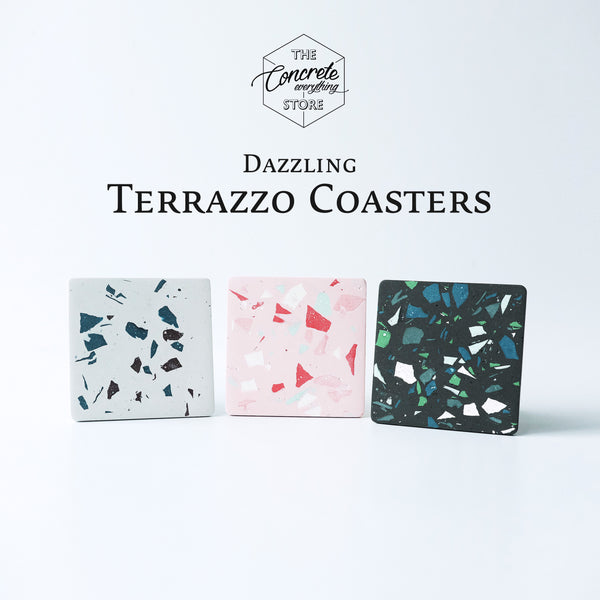 Online Lesson: Dazzling Terrazzo Coasters Workshop