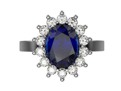 Gemstone Engagement Rings - 2020