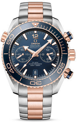 Omega Seamaster Planet Ocean 600M Co-Axial Chronograph Rose Gold