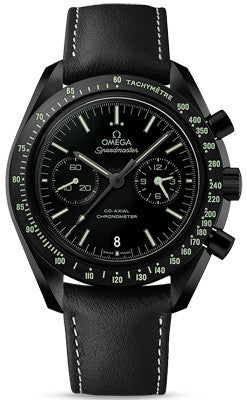 Omega Speedmaster Pitch Black Moonwatch Professional Chronograph - Heritage Watches