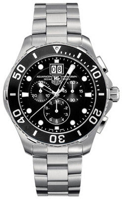Tag Heuer Aquaracer Grande Date Chronograph - Heritage Watches