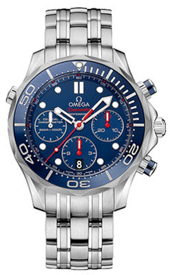Omega Seamaster Diver 300M Co-Axial Chronometer - Heritage Watches