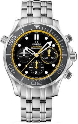 Omega Seamaster Diver 300M Co-Axial Chronograph - Heritage Watches