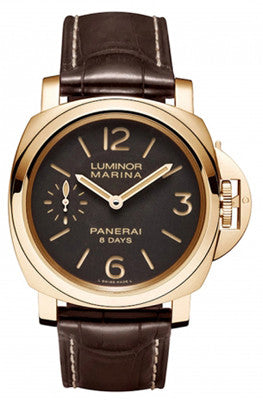 Officine Panerai 511 Luminor Marina 8 days Oro Rosso 44MM