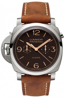 Officine Panerai 579 Luminor 1950 Left-Handed 8 Days Titanio 47MM