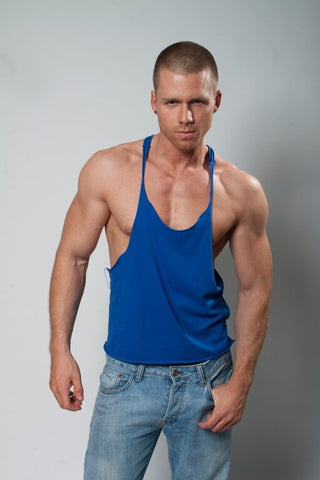 YMLA Raw Edge String Tank