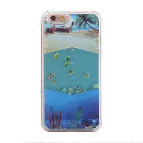 Liquid Fish Case for Apple iPhone