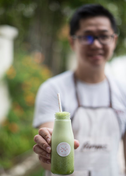 Delicious healthy smoothies from Farmz Singapore