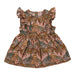 Hunter + Boo Frill Dress - Nude Palawan