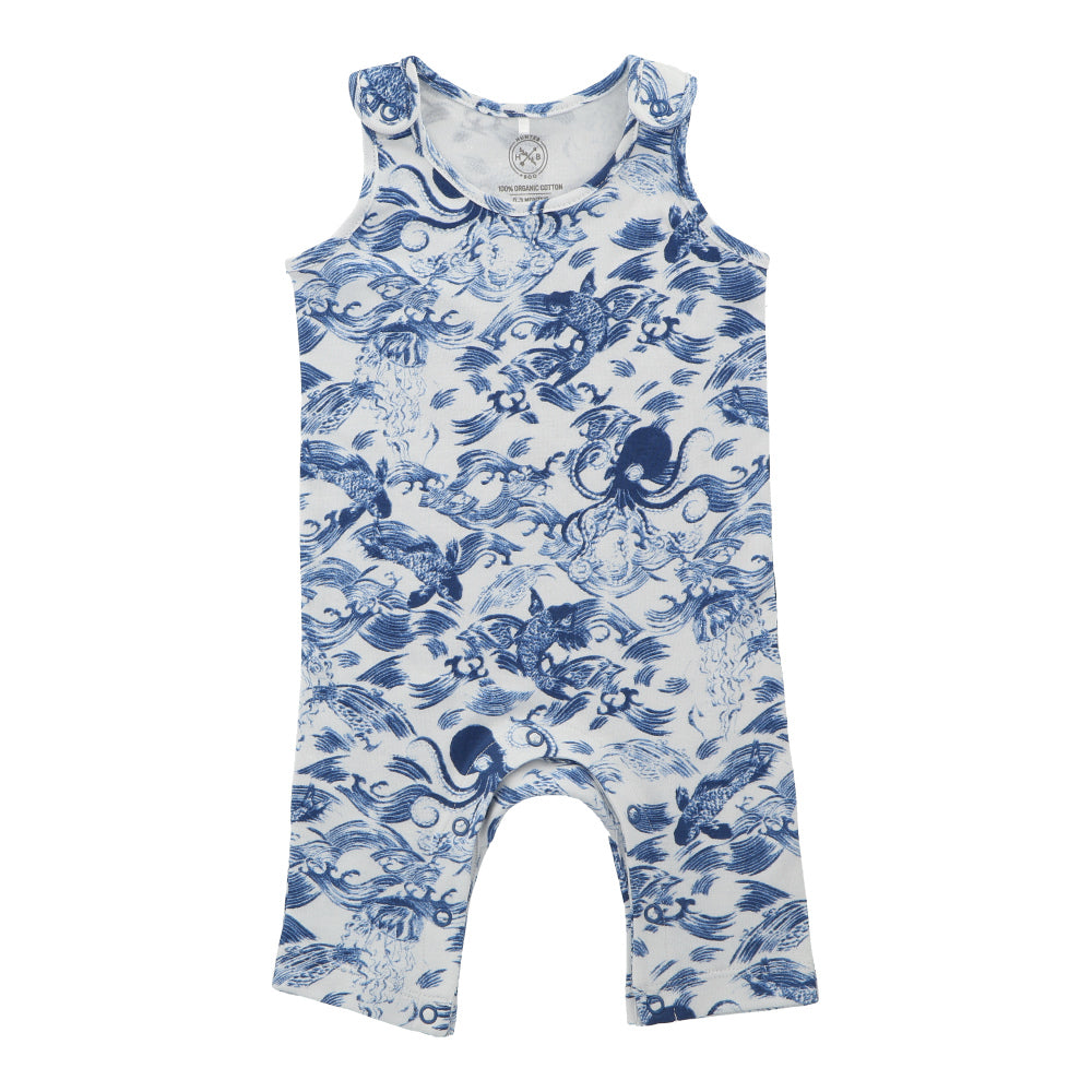 Hunter + Boo Jumpsuit - Kaiyo Print
