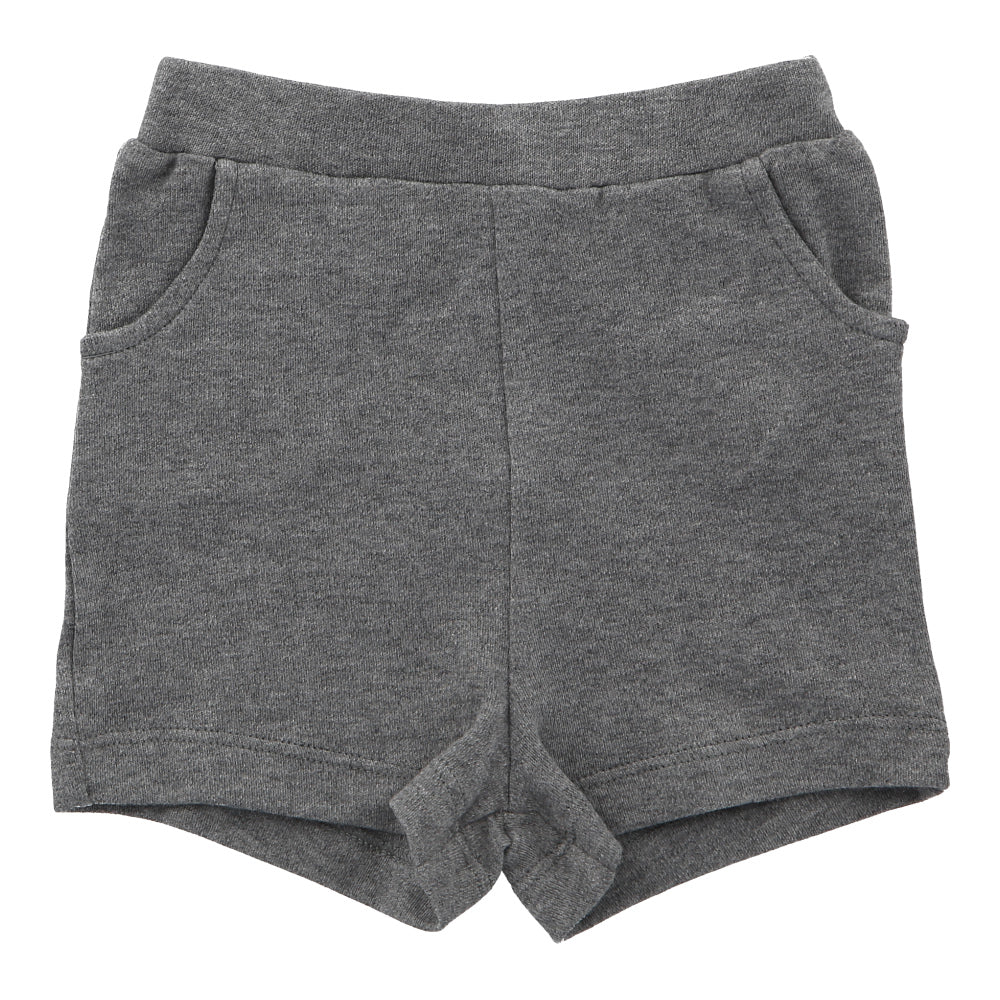Hunter + Boo Shorts - Grey Marl