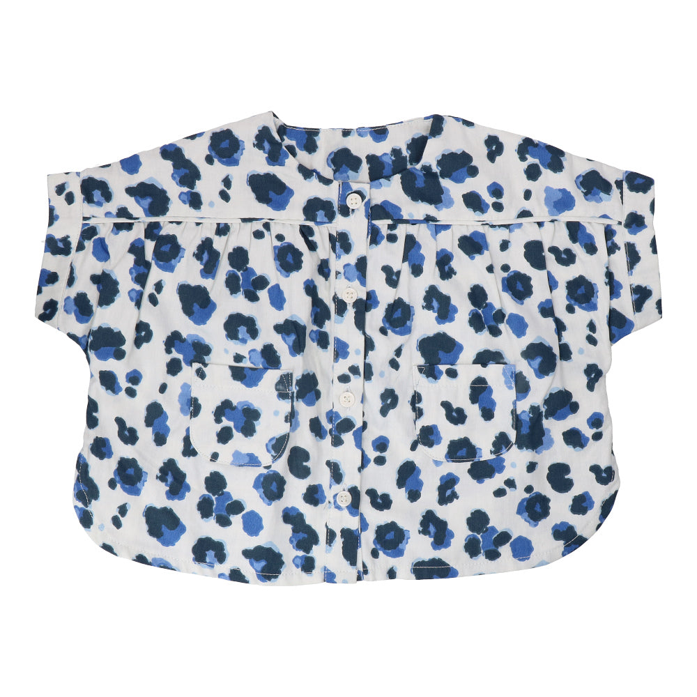 Hunter + Boo Blouse - Yala Blue