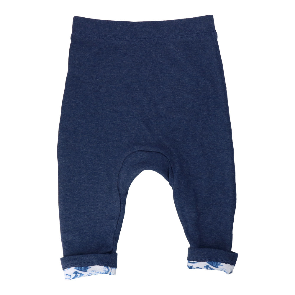 Hunter + Boo Reversible Joggers - Kaiyo/Navy