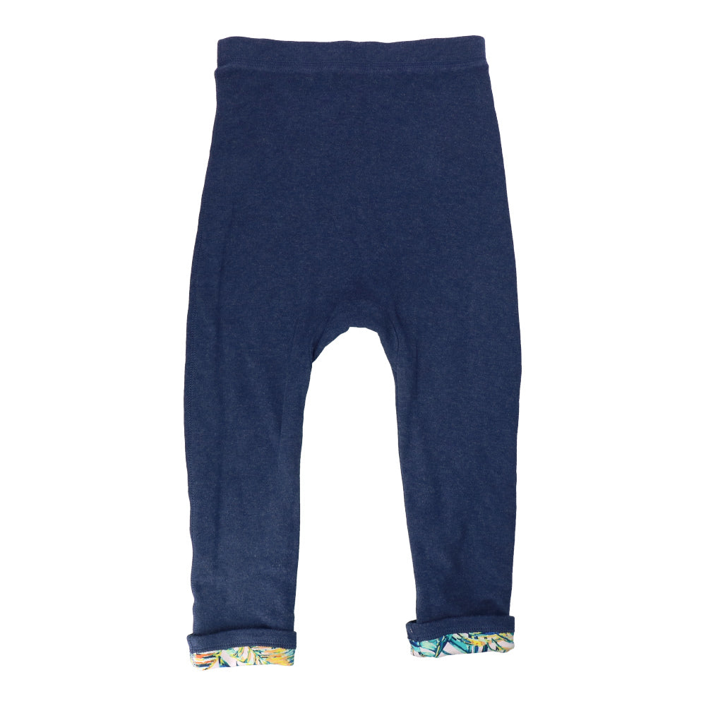 Hunter + Boo Reversible Joggers - Palawan/Navy