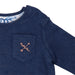 Hunter + Boo Reversible Sweater - Kaiyo/Navy