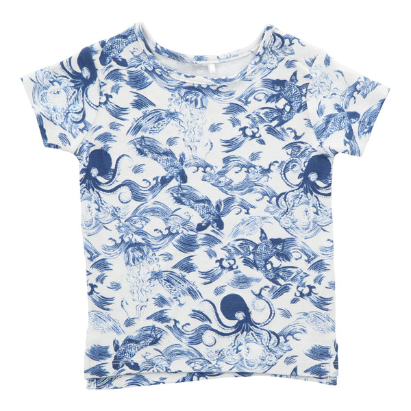 Hunter + Boo T-Shirt - Kaiyo Print