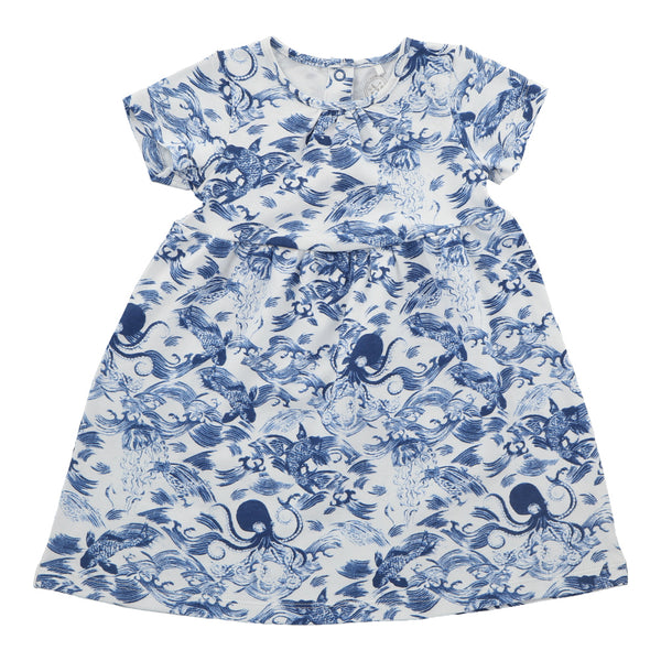 Hunter + Boo T-shirt Dress - Kaiyo Print