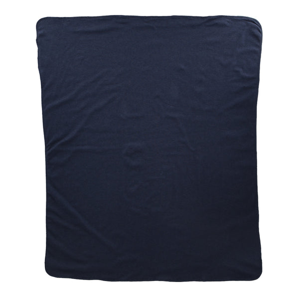 Hunter + Boo Blanket - Navy Marl