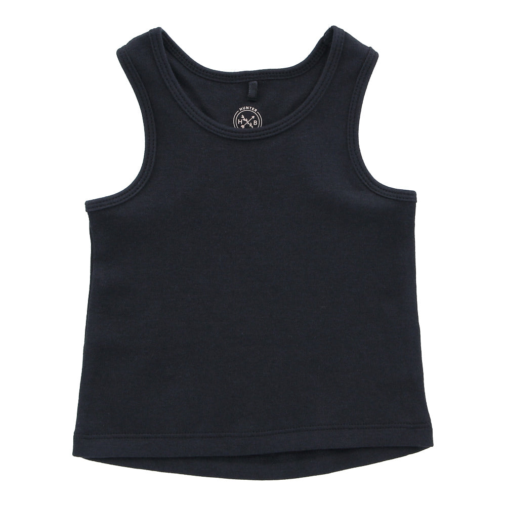 Hunter + Boo Vest - Soft Black