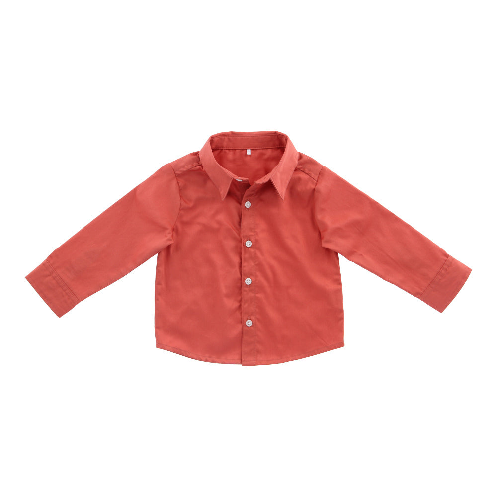 Hunter + Boo Shirt - Terracotta