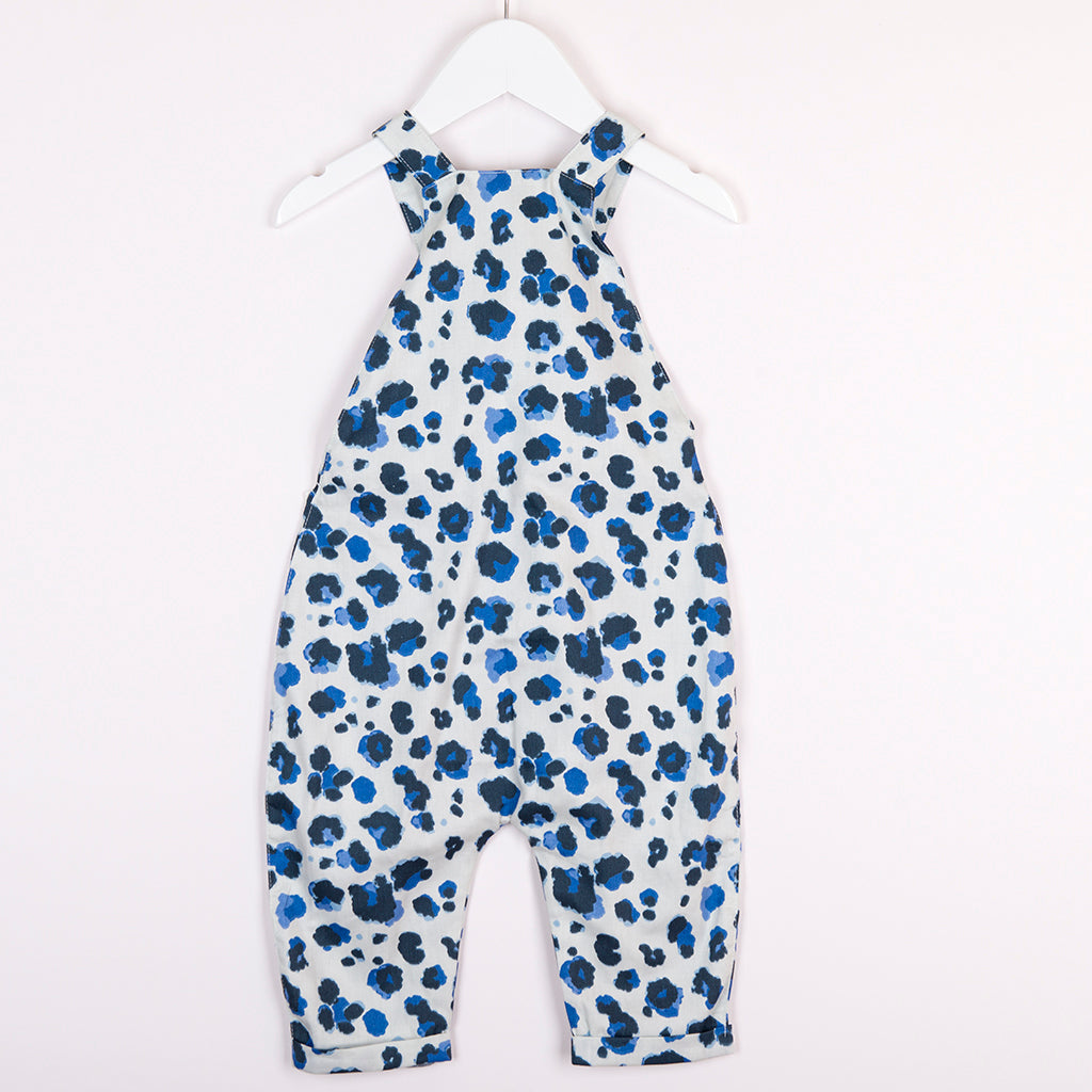 Hunter + Boo Overalls - Yala Blue