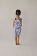 Hunter + Boo Vest - Shibori Blue