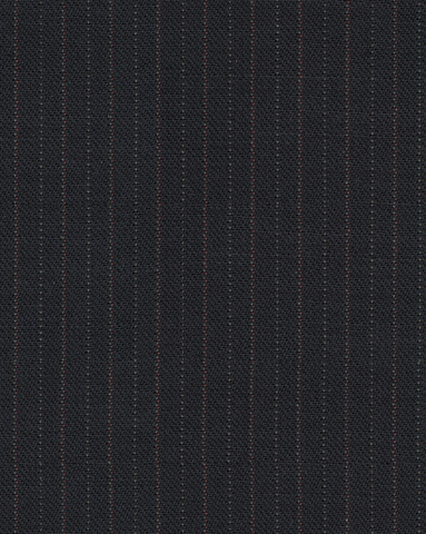 100% Wool Dark Blue Suit Two Pc