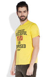 Parx Yellow Men T-Shirt
