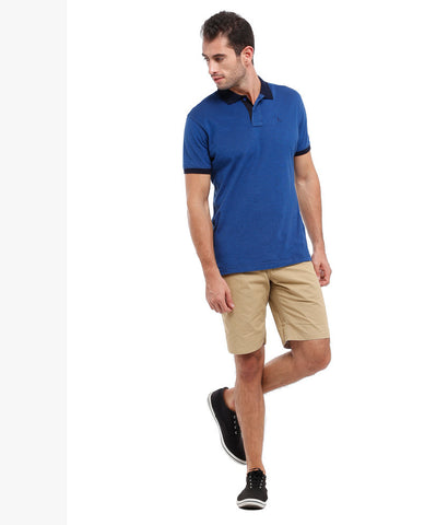 Parx Beige Men Shorts
