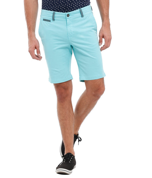 Parx Green Men Shorts