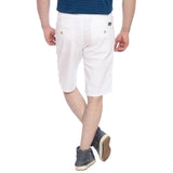 Parx White Men Shorts