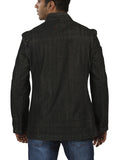 Parx Black Men's Jackets