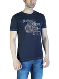 Parx Dark Blue Men's T-Shirt