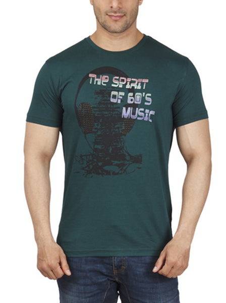 Parx Dark Green Men's T-Shirt