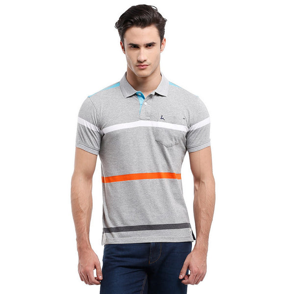 Parx Grey Men's T-Shirt