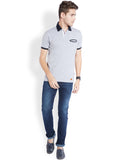 Parx Light Grey Men's T-Shirt