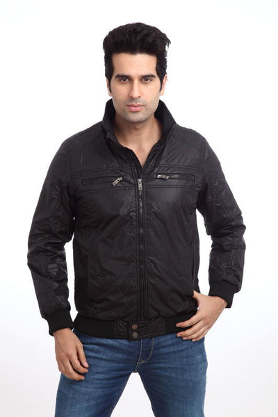 Parx Black Men Outerwear