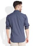 Parx Dark Blue Men's Shirt