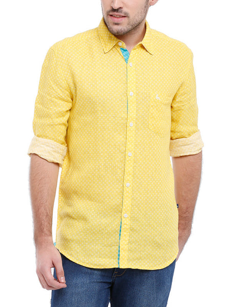 Parx Light Yellow Men's Shirt