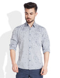 Parx Medium Blue Men's Shirt