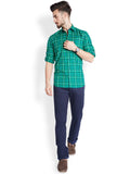 Parx Dark Green Men's Shirt