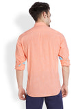 Parx Orange Men Shirt