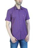 Parx Purple Men Shirts