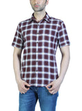 Parx Maroon Men Shirt