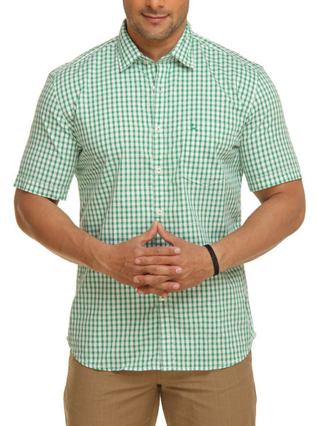 Parx Light Green Men's Shirt