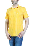 Parx Yellow Men Shirts