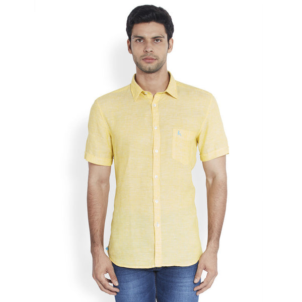 Parx Yellow Men's Shirt